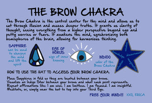 The Brow Chakra Hat