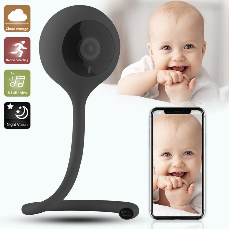 Home Wireless Digital Audio Video Baby Monitor With Security Camera
