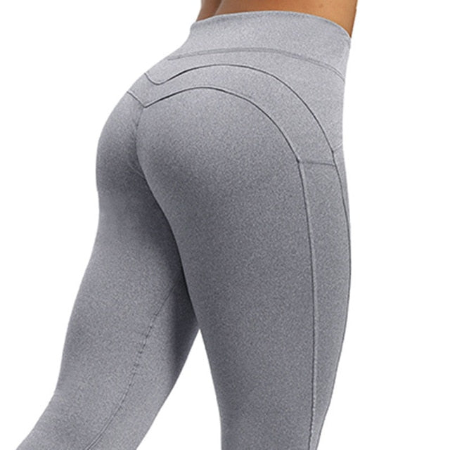 """Air"" High Waist Breathable Push-up leggings - FashionFit"
