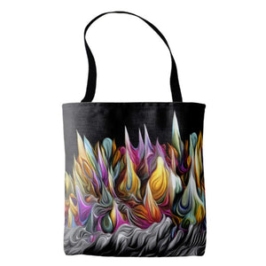 Colorful Canvas Tote Bag