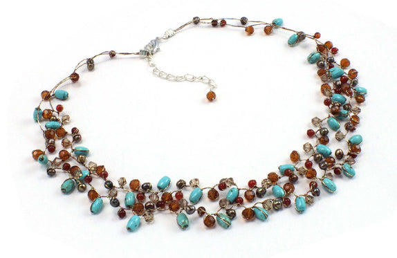 T29-01 : The Ocean Stars Necklace