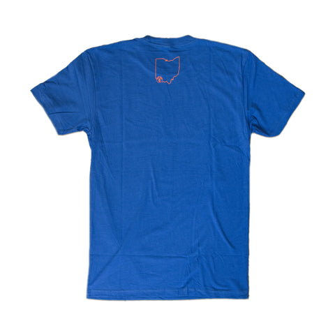 Blue/Orange Cincy Soccer T-Shirt