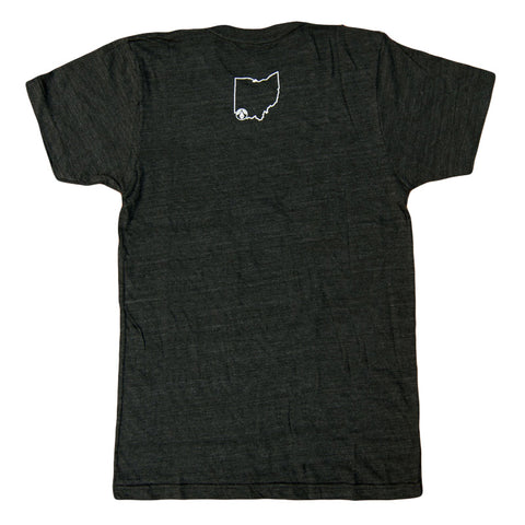 Mens Charcoal Black T-Shirt