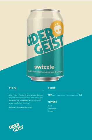Swizzle - Hard Cider with Lemongrass & Ginger