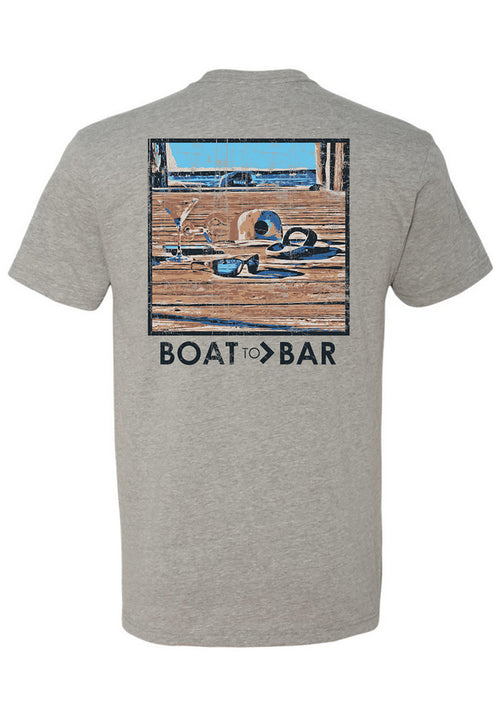 Boat to Bar Docklife Tee