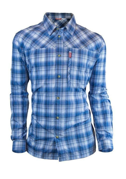 Blue Performance Plaid