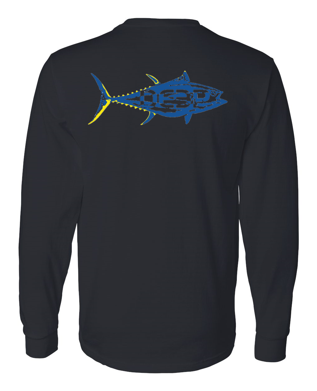 Big Eye Cotton Long Sleeve - Black