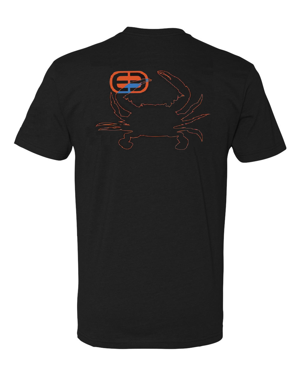 Cotton Outline Crab Pocket T - XXL