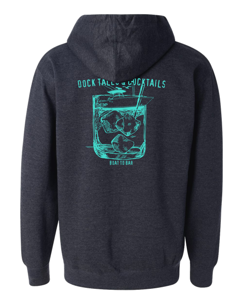 Dock Tales and Cocktails Hoodie