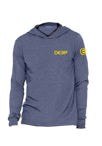 Deep Charcoal Cotton Long Sleeve