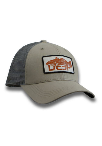 Orange/Charcoal Range Trucker