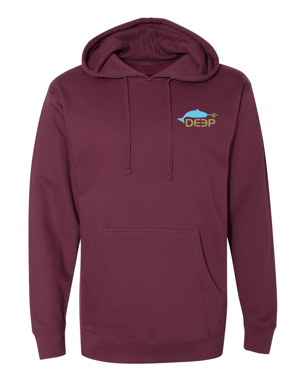 Limited Time Dive Bar Hoodie - Maroon