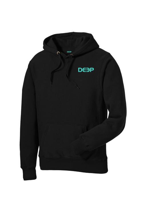 Dock Tales and Cocktails Heavy Weight Hoodie Black