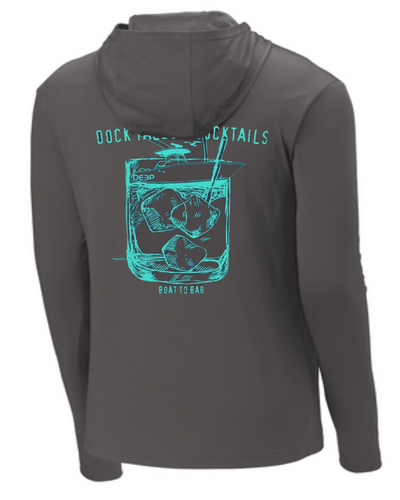 Dock Tales and Cocktails BYOB Performance Hoodie