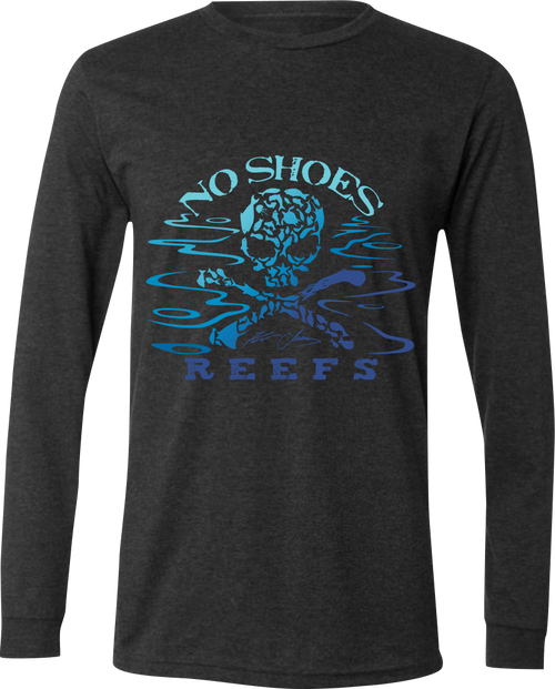 No Shoes Reefs Limited Edition Recycled Triblend Long Sleeve