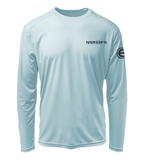 Reef Ball Repreve Long Sleeve Performance - Artic Blue