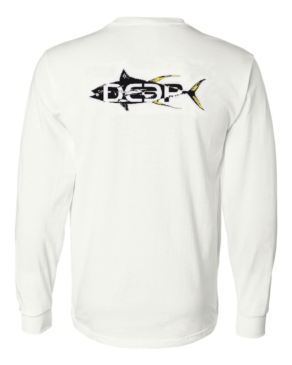 Yellowfin Cotton Long Sleeve - White