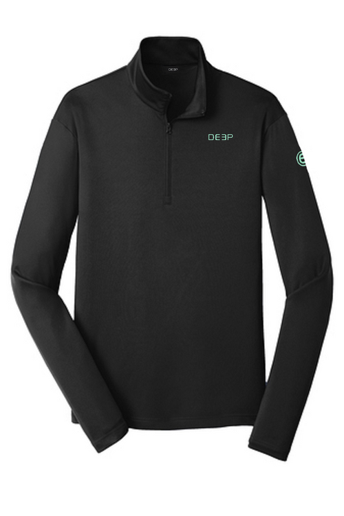 Black BYOB Performance Quarter Zip