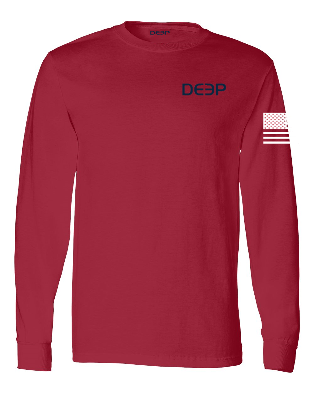 Freedom Cotton Long Sleeve - Red