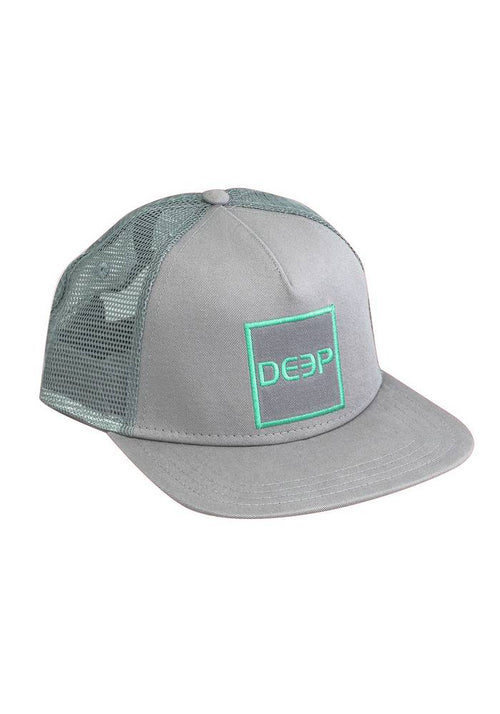 Grey/Seafoam Square Trucker