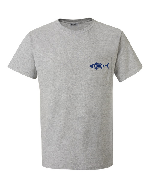 Tuna Pocket T - Heather Grey