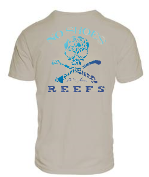 Cruz Bay / No Shoes Reefs Repreve Triblend  T - Silver