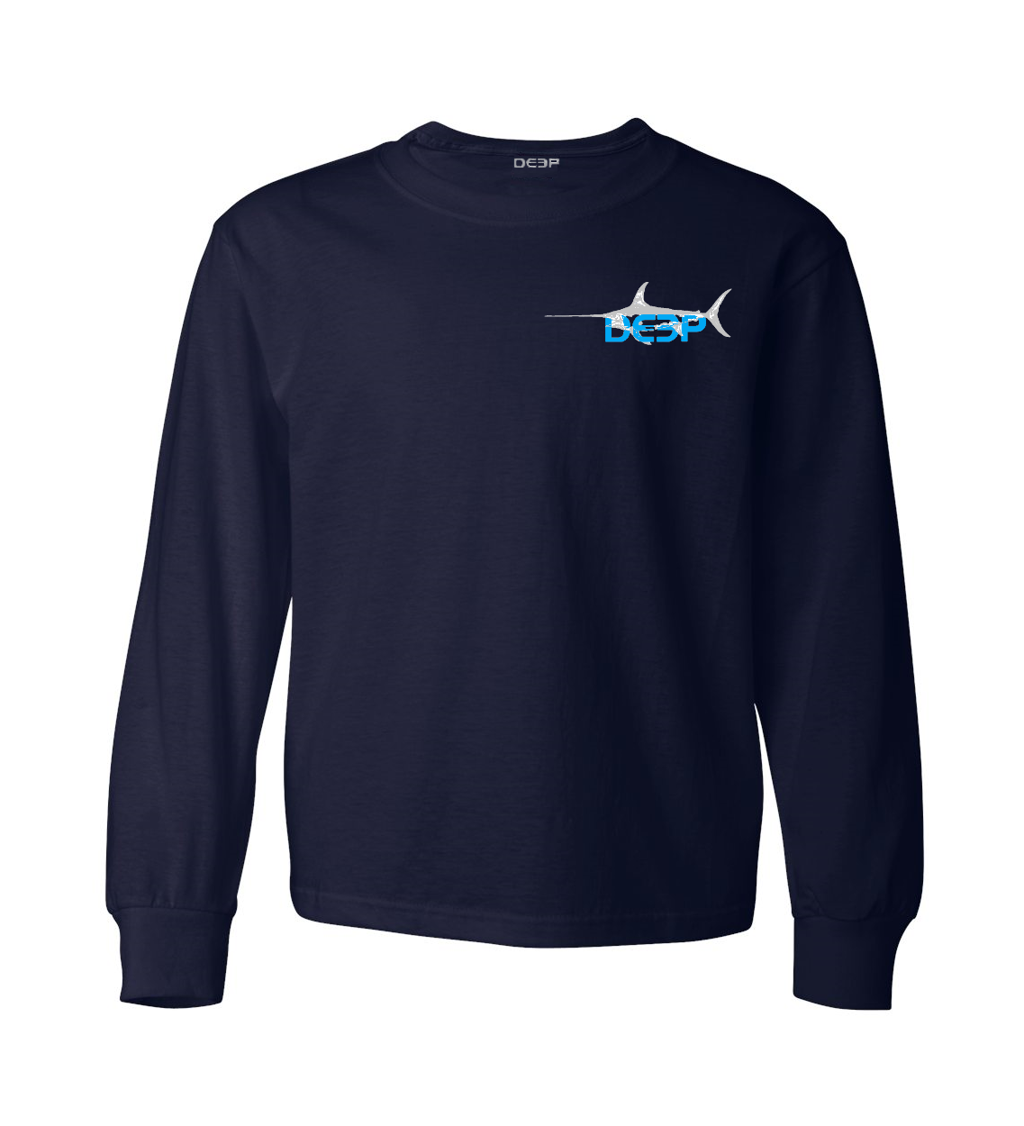 Schoolie Swordfish Cotton Long Sleeve - 2 Colors Available