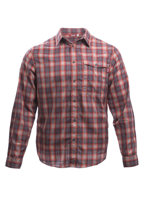 Boat TO> Bar Performance Plaid Red
