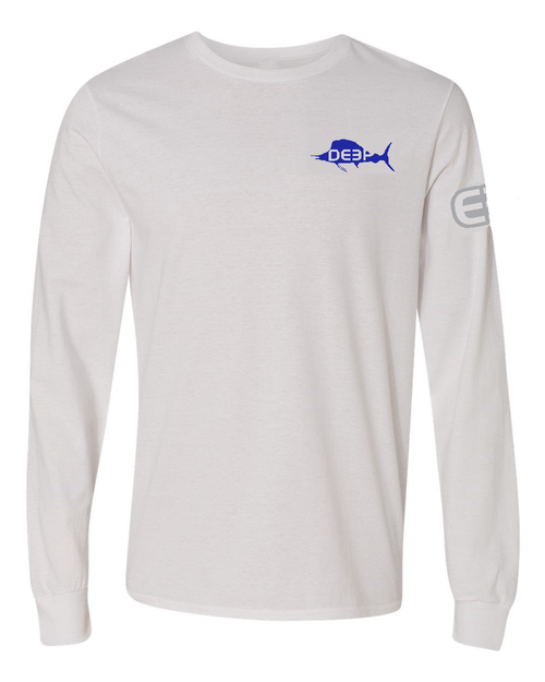 Sailfish Cotton Long Sleeve - White