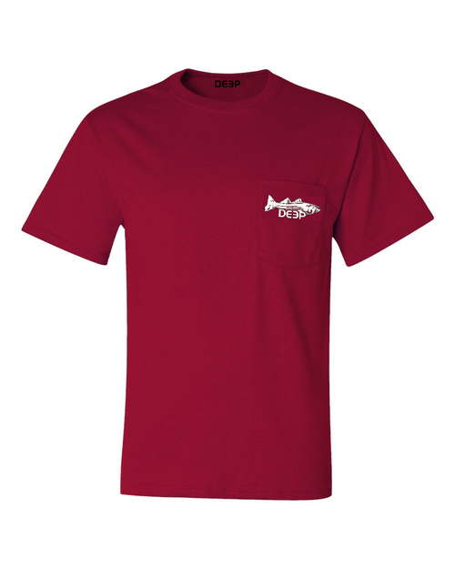 Striper Pocket T - 3 Colors Available