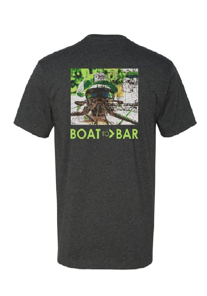 Boat to Bar Lobstah Face Tee