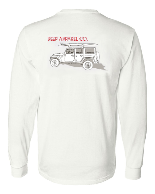 Beach Buggy Cotton Long Sleeve