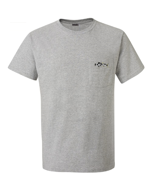 Yellowfin Pocket - Heather Grey
