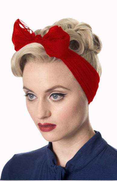 Foulard de cheveux vintage (3 couleurs disponibles) / Vintage head scarf (3 colors available) - Vintage Romance