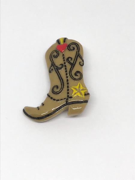 Broche Botte cowgirl / Cowgirl boot pin