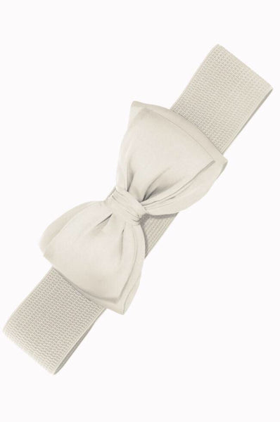 Ceinture Bella blanche / White Bella belt