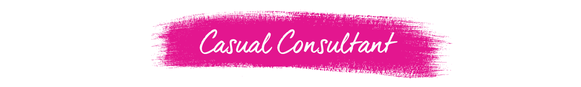 Casual Consultant Banner