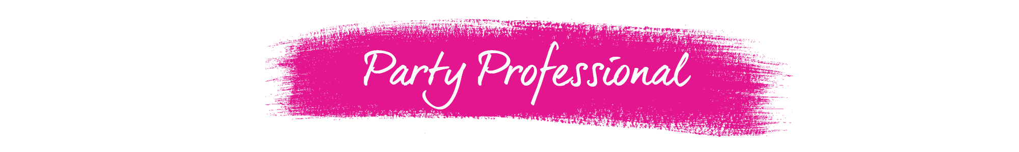 Party Professional Banner