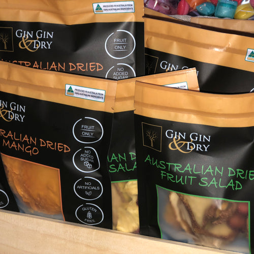Gin Gin & Dry Dried Fruit