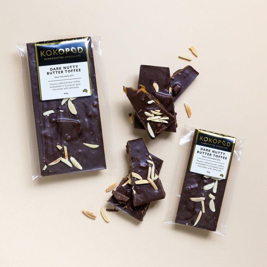 Kokopod Dark Nutty Toffee