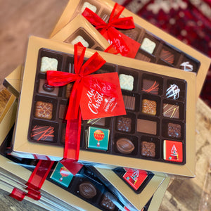Christmas Assorted Chocolate Box 30 Piece