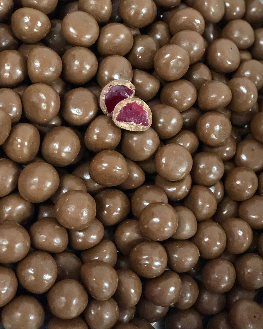 Milk Chocolate Raspberries