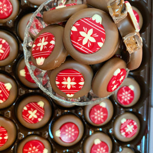 Caramel Christmas Bauble