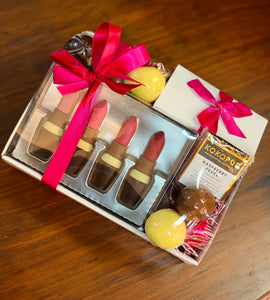 French Lipstick Chocolate Gift Tray