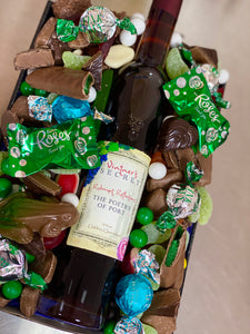 Peppermint Chocolate Port Tray