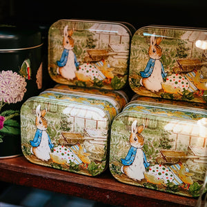Peter Rabbit Rectangle Tin