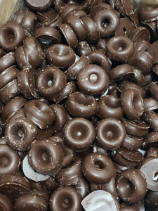 Dark Chocolate Aniseed Rings