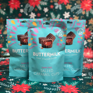 Buttermilk Salted Caramel Cups