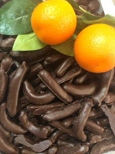 Dark Chocolate Orange Straws