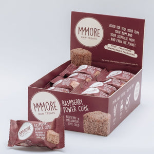 MMMORE Raspberry Protein Power Cubes